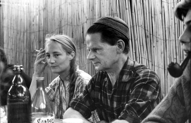 Leroi-Gorhen et Francine