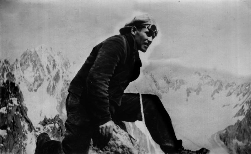 Marcel Gallay un fana du Mont-Blanc