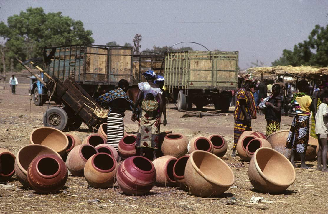 Figure. Marché de Kio en Pays Bwa