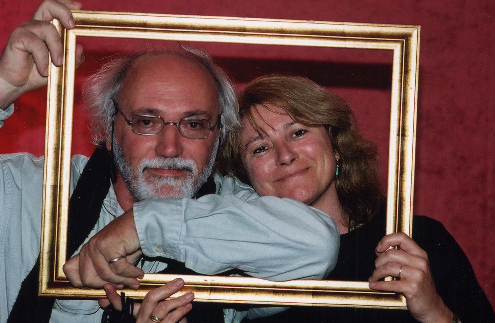 André Houot et Jocelyne Charrance (photo Elvyre Franzonello)