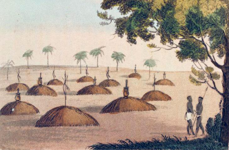 Fig. 1. Tombes sérer 1821