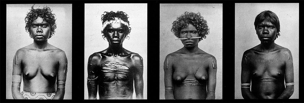 Fig. 4. Photographies anthropométriques par Paul H.M. Foelsche entre 1877 et 1893 (Colombo-Dougoud (éd.) 2017, p. 39).