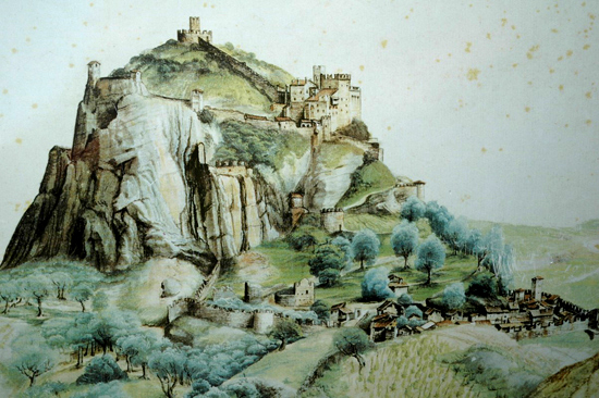 Painting of the Castel by Albrecht Dürer