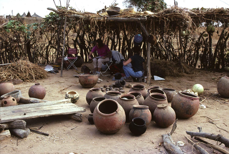 Ka In Ouro 1991. Concession des potières Y. Bamadjo et Y. Anguiba (Niangali). Enquêtes. MESAO 209-01.