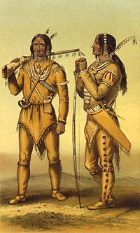 Fig. 4. Indiens Gwich'in. https://tr.wikipedia.org/wiki/Alaska_Atabaskları#/media/Dosya:210_gwichin_hunter_summerclothing.jpg
