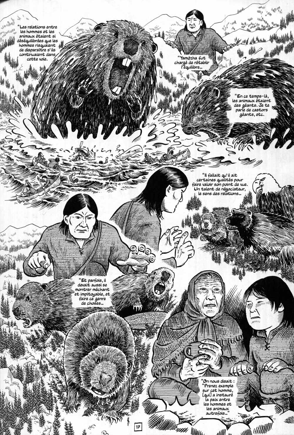Fig. 16. Dialogue avec le monde sauvage. © Sacco 2020