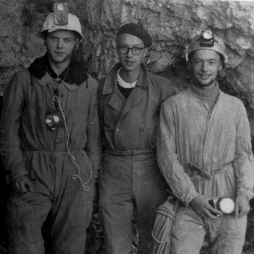 De gauche à droite : Benoît Guinand, Gilbert Rist,  Alain Gallay