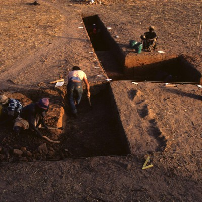 Santhiou Kohel : la fouille du tumulus 43
