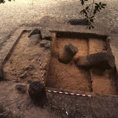 Santhiou Kohel : cercle 15, fouille de la zone des frontales