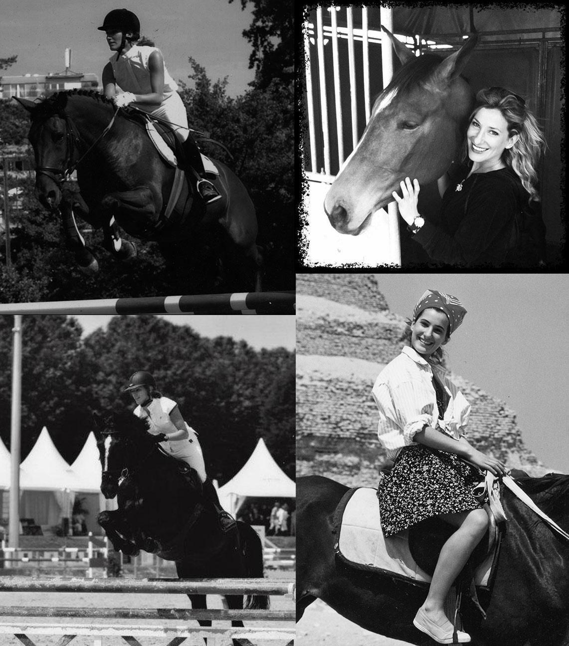 Béatrice : en Egypte, à Saqqâra, ou à Genève, des chevaux toujours (photos Gallay et de Sepibus)