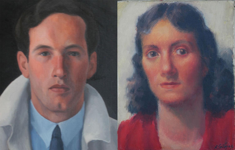 Robert Gallay et Evelyne Gallay-Baron. Peintures Robert Gallay.