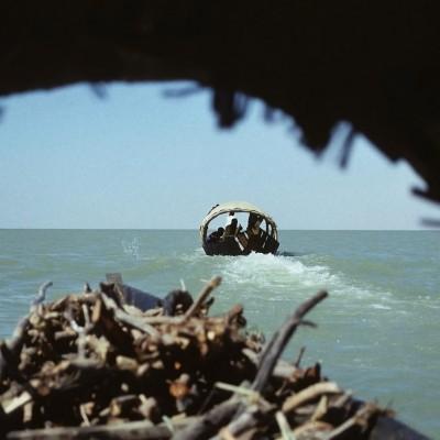 Traversée du lac Débo