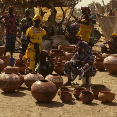 Sur le marché de... dans la plaine du Séno