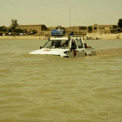 Passage du Bara Issa à Sah