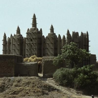 Mosquée de Sirimu près de Djenné