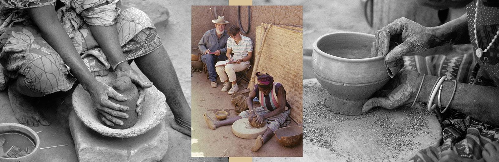 Une expérience de terrain indispensable à la réflexion théorique : l'étude ethnoarchéologique de la céramique traditionnelle du Mali.